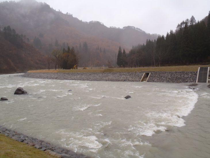 H25年度 福島県河川災害復旧工事(叶津2工区)